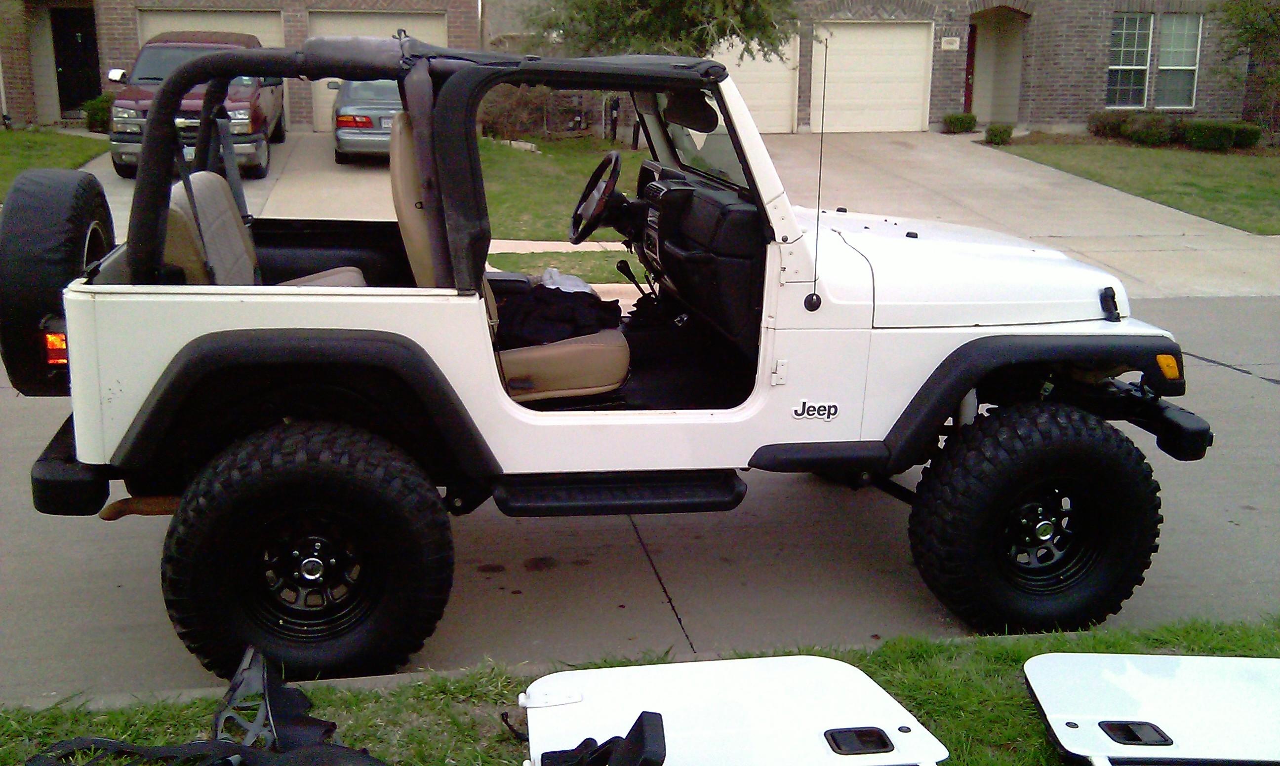 Jeep No Doors And No Top G3 Jeeps