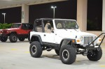 Custom Jeep Dallas white rhino